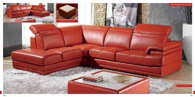 Leather Sofa Sectional  1