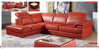 Top Graded Italian Genuine Leather Sofa Sectional Living Room Sofa Home Furniture Big Size With Functional