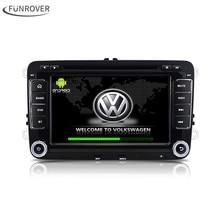 2017 Hot Sprzedaż Dla Vw Volkswagen 2din Android 6.0 Samochód Dvd odtwarzacz Stereo Radio Gps Dla Passat Cc Jetta Golf Polo Skoda Seat
