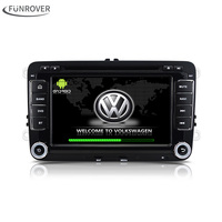 Dla VW volkswagen 2Din Android 6.0 samochodowy odtwarzacz dvd Radio Samochodowe Stereo gps Samochód DVD GPS Dla VW Passat CC Jetta Golf Polo Skoda Seat