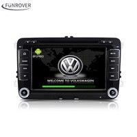 Voor VW volkswagen 2Din Android 6.0 auto dvd-speler Auto Stereo Radio gps Auto DVD GPS Voor VW Passat Golf Polo CC Jetta Skoda Seat