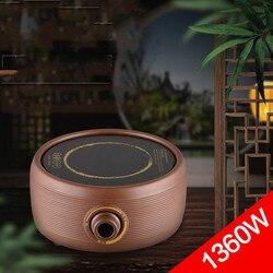 Hot Plates Iron pot electric ceramic furnace purple sand hot tea furnace.  mini is made