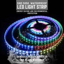 DINGDIAN LED Strip Waterproof DC12V RGB Strips Light Remote Control Grow Lights Flexible Multiple Color TV Decor