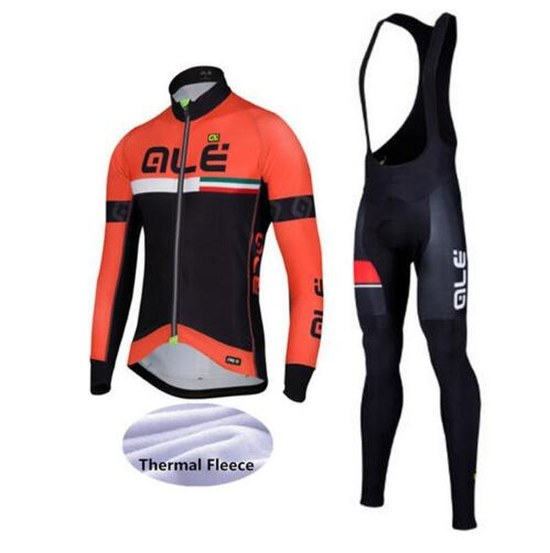 2018 winter custom winter warm sweater team riding suit ALE breathable riding clothing Jersey Jersey high-quality