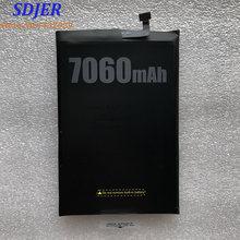 100% 新オリジナルdoogee BL7000バッテリー交換7060 12000mahスマートフォン部品バックアップバッテリdoogee BL7000スマート電話