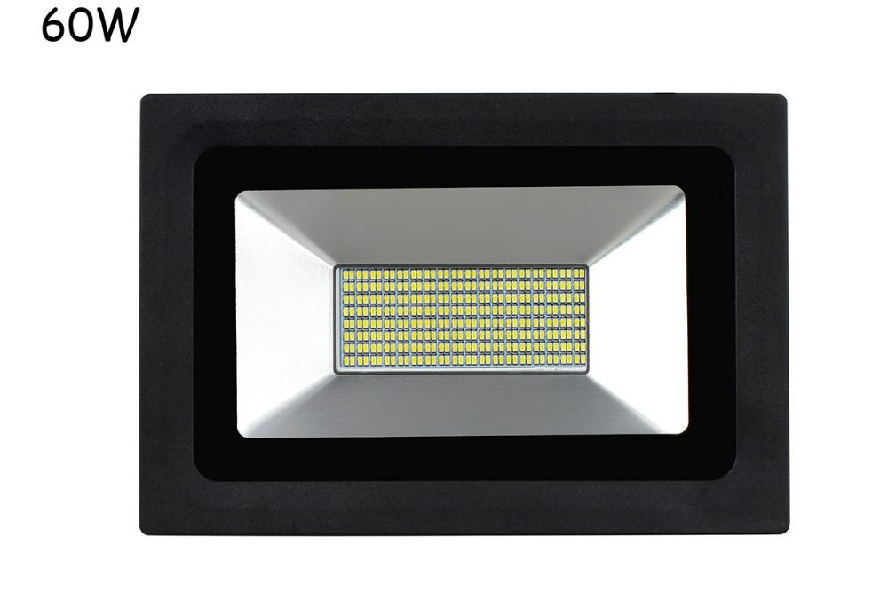LED FloodLight 15W 30W 60W 100W Led Flood Light Spotlight 85- 220V Waterproof Outdoor Wall Lamp Garden Projector Lighting