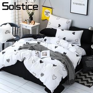 Solstice Home Textile Heart Wh