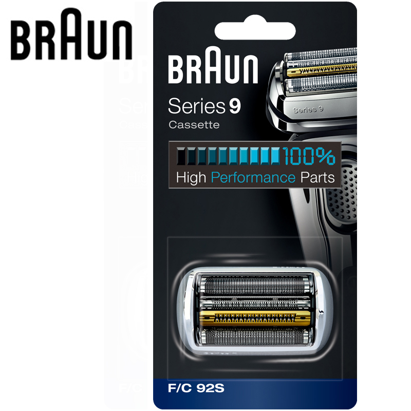 Braun Replacement Cassette Blade for Series 9 Shavers High Performance Parts Replaceable Cutter 9030s 9040s 9050cc