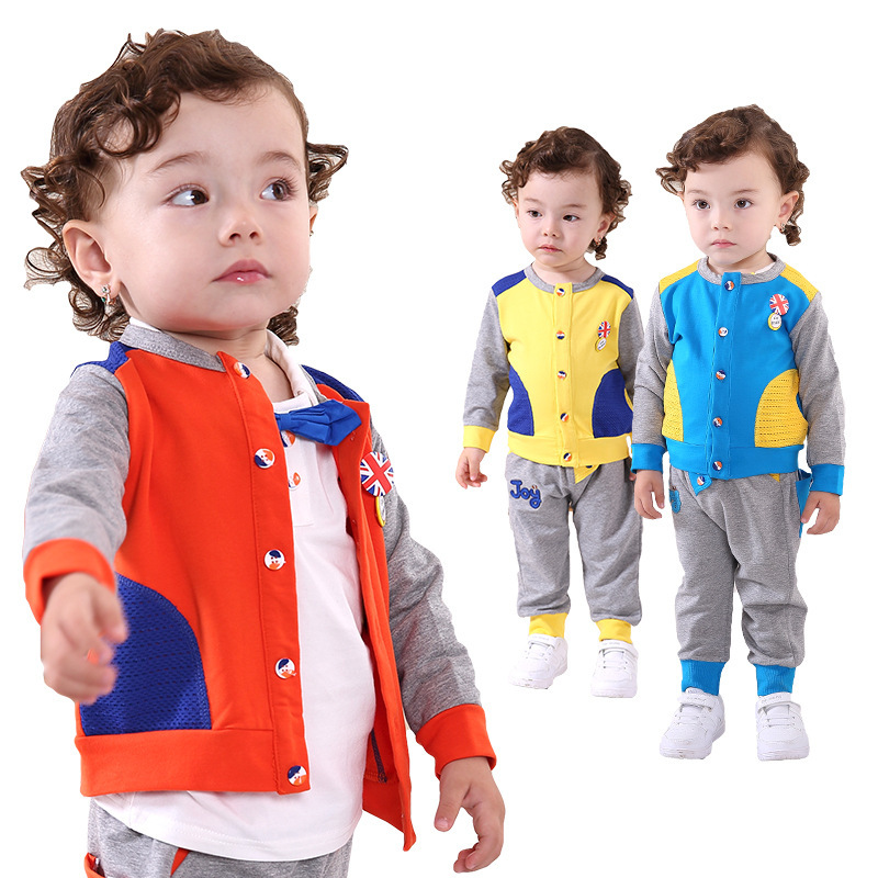 Anlencool Hot Sale Promotion Coat Roupas Meninos free Shipping Autumn Baby Personalized Apparel Clothes Set 0-2 Years Clothing