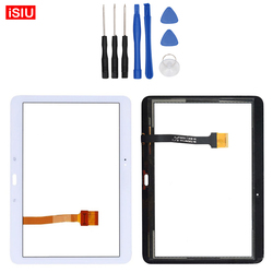 New 10.1 inch For Samsung Galaxy Tab 4 T530 / T531 / T535 / SM-T530 Tab4 LCD Touch Screen Lens Glass Outer Front Panel + Tools