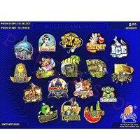 Casino board XXL 17 in 1 Red Board PCB/2 VGA slot game board/multi games gambling board for LCD slot Jamma machine(40% 96%)