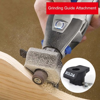 цена на Sanding Grinding Guide Attachment Rotary  Electric Drill Engraver Tool Accessories for Dremel Mini Drill Woodworking Grill ALI88