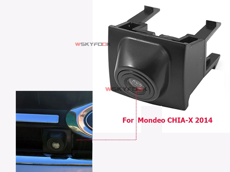 For Ford Mondeo CHIA-X 2014 Front View Camera Firm Installation Under Car Logo Waterproof Positive Image Parking Camera