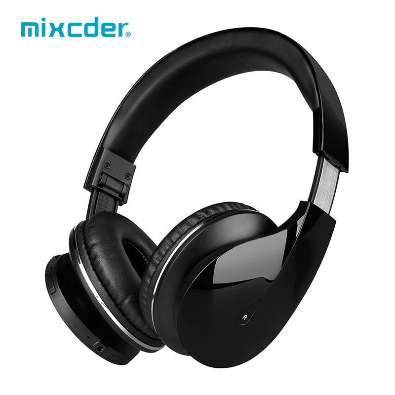 Mixcder Drip Wireless Bluetooth On-Ear Stereo Headphone Over-Ear Headsets with Built-in Microphone For Android Smart phones