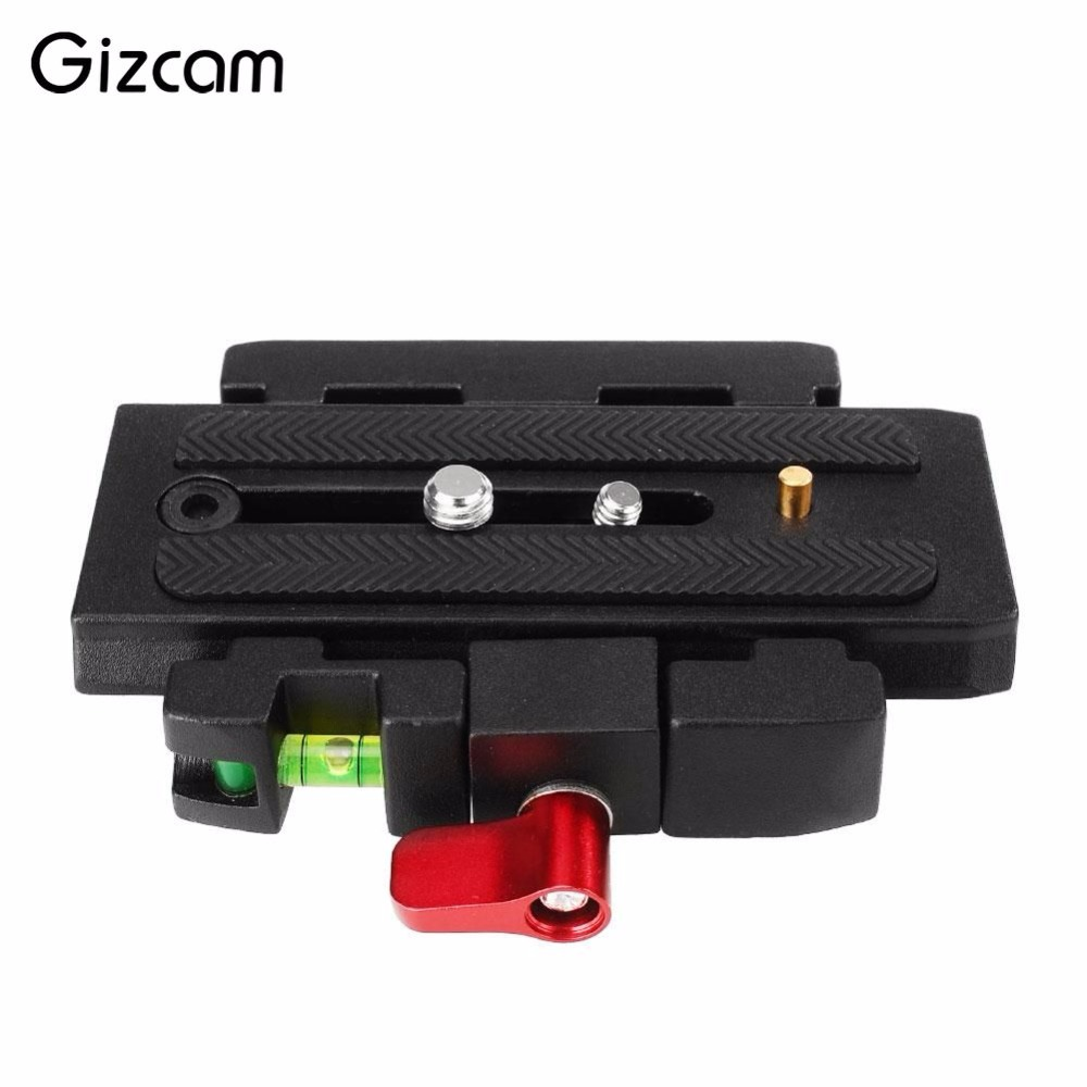 Gizcam P200 durable Quick Release Assembly for Video Cameras