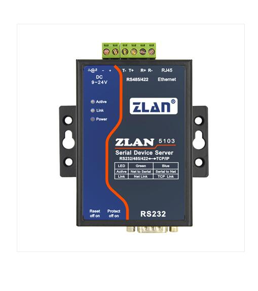 Serial Server RS232/485/422 To Ethernet Serial To RJ45 Device Networking Automation Control