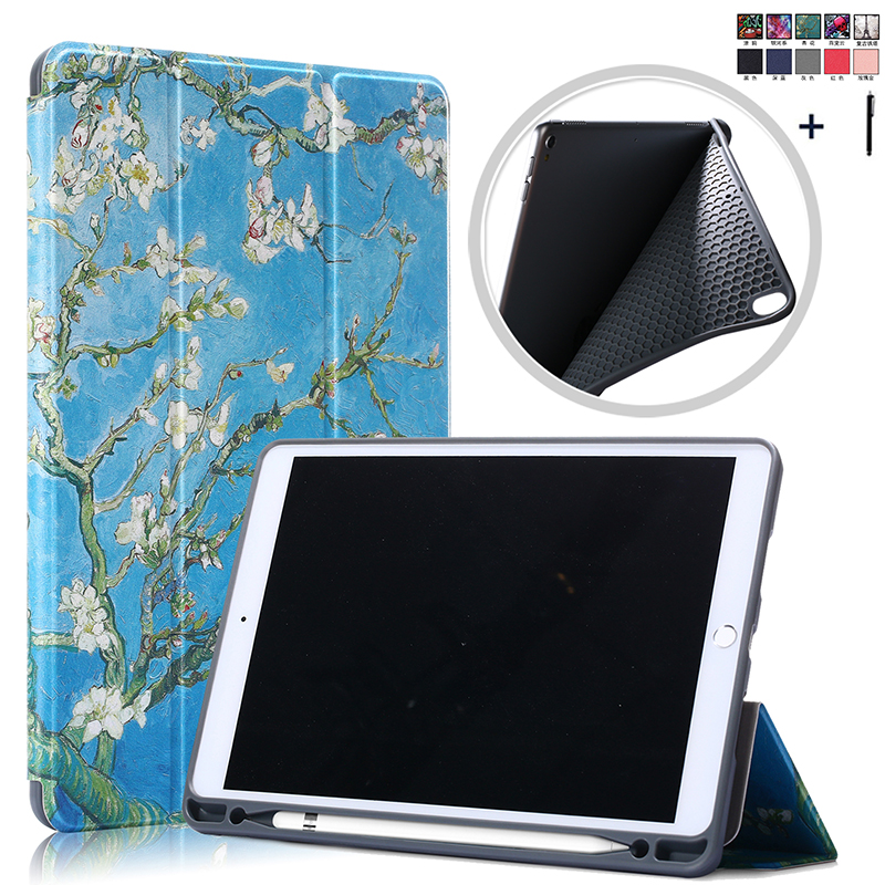 Flip Leather Case For <font><b>iPad</b></font> Air 3 <font><b>10</b></font>. <font><b>5</b></font> Smart Wake Sleep Pen Holder Cover For <font><b>iPad</b></font> <font><b>Pro</b></font> <font><b>10</b></font>.<font><b>5</b></font>'' Back Stand Capa <font><b>Fundas</b></font> +Stylus image