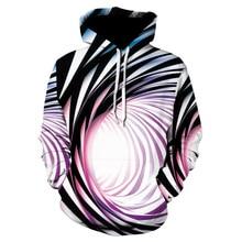 ZOGAA 2019 New Men's Individuality Vortex Pattern 3d Print spring long Sleeve hoodies men sudadera hombre streetwear hoodie men поло print bar vortex