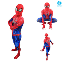 3D printing Adult Men Kids Spiderman Cosplay Costume Zentai Spider Man Superhero Pattern Bodysuit Suit Jumpsuits