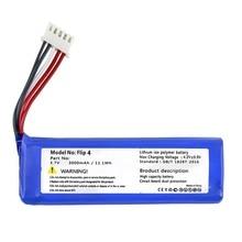 Batterie pour JBL Flip 4 édition spéciale lecteur nouveau Li polymère Rechargeable accumulateur Pack de remplacement GSP872693 01 3.7V 3000mAh
