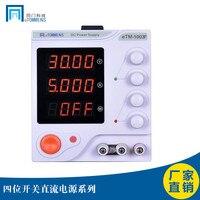 ETOMMENS eTM 1003F (DC 0 100 v  0 3A) 4 Interruptor Dígitos Display Digital DC Power Supply|Peças e acessórios p/ instrumentos| |  -