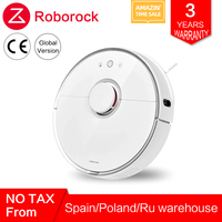 Roborock s50 s55 Xiaomi Vacuum Cleaner 2 for Home Smart Cleaning Wet Mopping Carpet Dust Sweeping Mi Robot Robotic Wireless APP