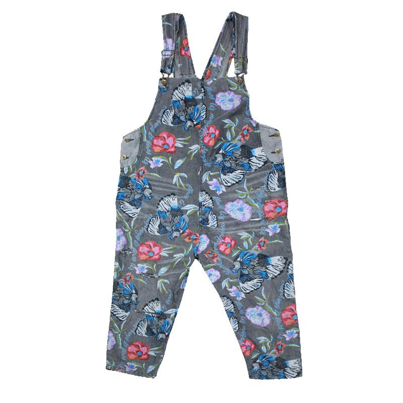 Ample Et Imprimer Combinaison Barboteuses Nouvelle Fleur As Livraison Salopette Denim Mode Photos D'été Avec Gratuite Trous Pantalons 2019 Combinaisons p1zB1nxv