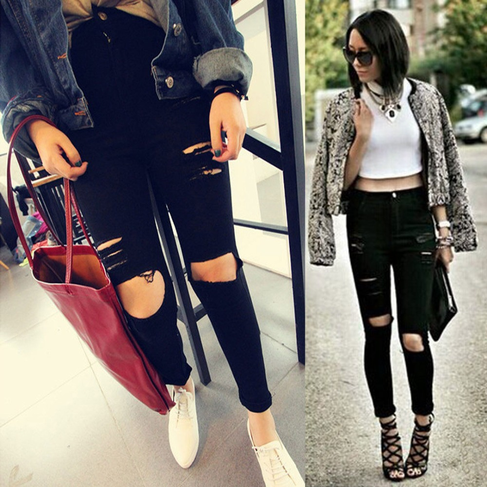 Popular Ripped Jeans-Buy Cheap Ripped Jeans lots from China Ripped ...