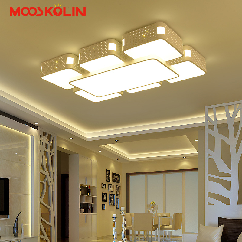 Rectangle Acrylic Modern led Ceiling lights For Living room Bedroom Lamparas de techo colgante Square led Ceiling lamp Fixture japanese bedroom ceiling lights led modern tatami decor contemporary large square lamp lantern ceiling lights living room