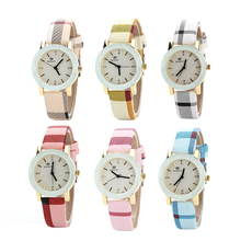 Moda Nylon Banda Mulher Gilrs Relógios Desportivos Relógio De Pulso De Luxo Presentes