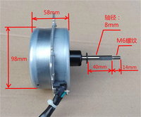 High Pressure Brushless Dc Motor Indoor Air Conditioning Fan Brushless DC Motor Three Phase Current Motor