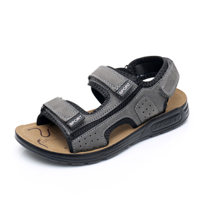 Image 2 - Apakowa 주니어 보이즈 오픈 토 프트 3 스트랩 스포츠 샌들 키즈 여름 해변 워킹 워터 슈즈 old Teens Boy Outdoor Footwear