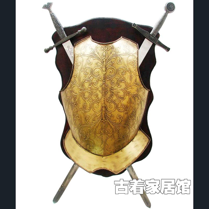 Magnificent Shield And Sword Wall Decor Frieze - Art & Wall Decor ...