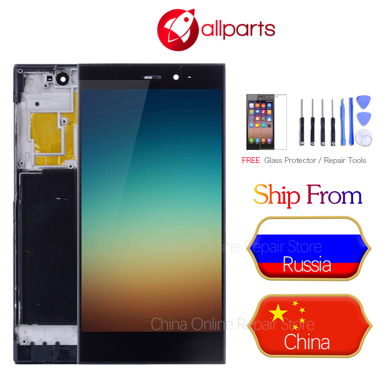 For Xiaomi Mi3 Display Tested 5'' 1920x1080 IPS LCD For XiaoMi Mi3 Display Touch Screen Digitizer Assembly Mi 3 LCD display