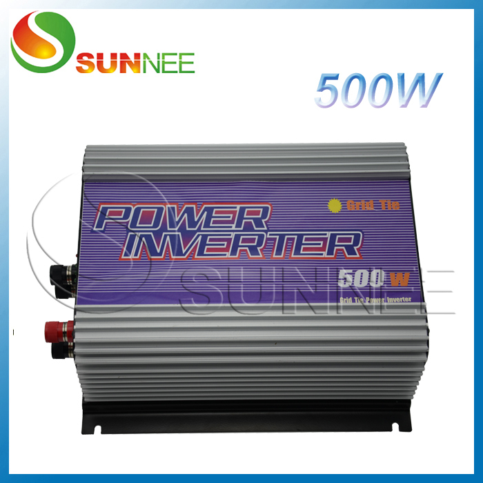 500W Wind Turbine Grid Tie Inverter DC input,built-in dump load controller,factory wholesale, promotion, coupon maylar 300w wind grid tie inverter for 48v dc wind turbine 22 60vdc 90 260vac 50hz 60hz no need controller and battery
