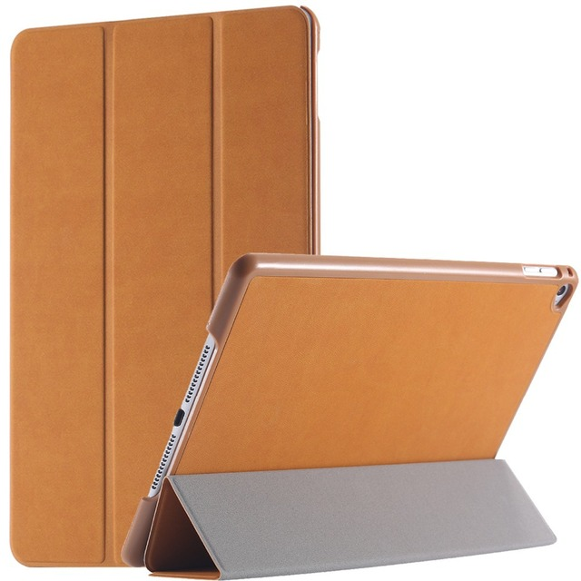 Top Quality Luxury Retro Deer Skin Leather Flip Case For iPad