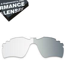 afb68f7b05 ToughAsNails Vented Lentes de Reposição para óculos Oakley Radar Path  Óculos De Sol Fotocromáticas Claro (Lente Única)