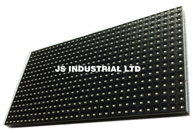 Free Shipping P10 Indoor SMD 3in1 Full Color Led Panel Display Module 1/8 scan - 320*160mm