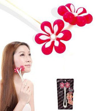 free shipping thin face is flower modelling slow roller plastic massager Face-lift