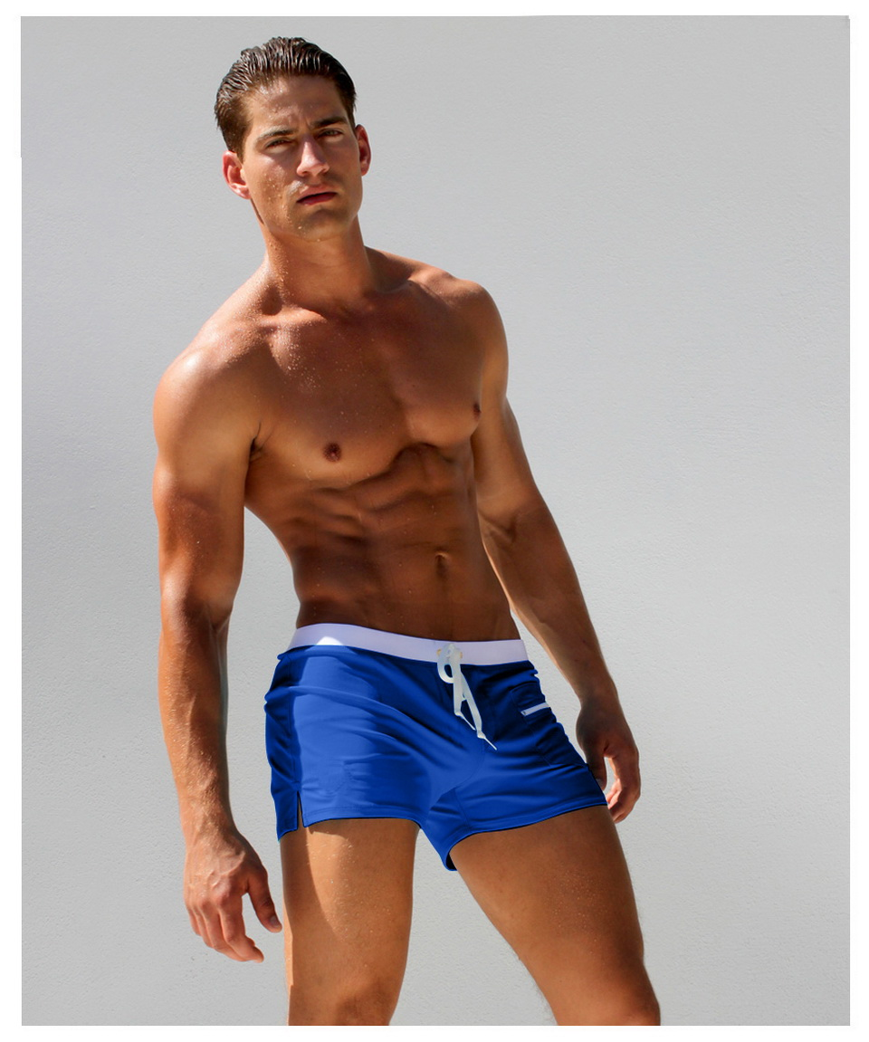 Topdudes.com - Hot Men's Sexy Summer Swim Trunk Beach Shorts Swimsuit