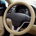 Бесплатная доставка  1 шт.  черный  серый  бежевый чехол рулевого колеса автомобиля из микроволокна 0907 для KIA  HYUNDAI  TOYOTA  HONDA  RIO  LADA