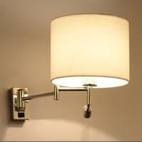 Светодио дный светодиодный прикроватный настенный светильник для гостиной аппликация Murale светильник Настенный бра для спальни современны