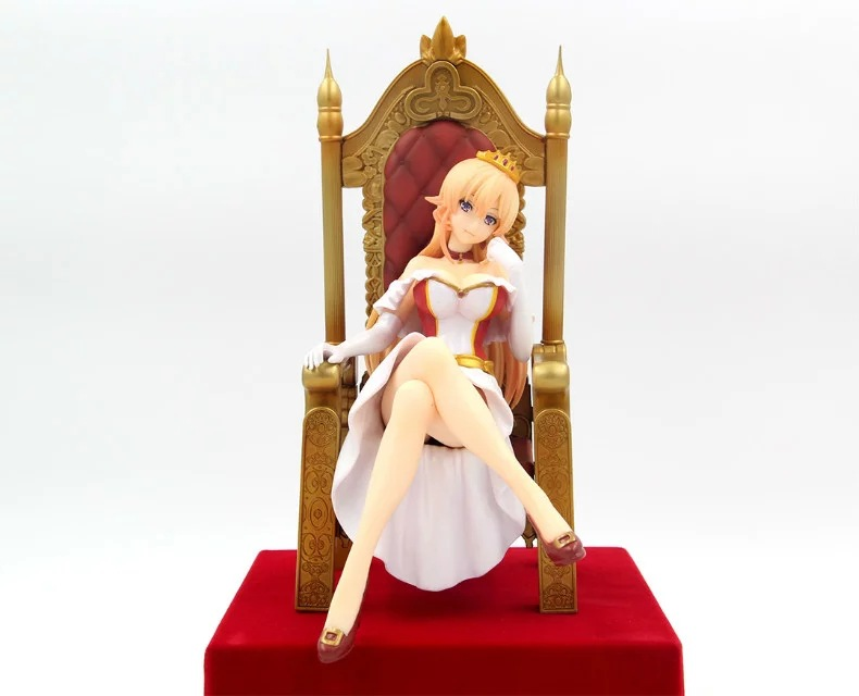 Hot 1pcs 22.5cm pvc Japanese sexy anime figure Shokugeki no Soma Nakiri erina action figure collectible model toys brinquedos hot 1pcs 28cm pvc japanese sexy anime figure dragon toy tag policwoman action figure collectible model toys brinquedos