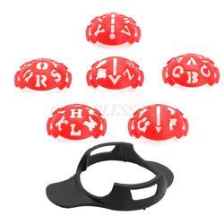 6 в 1 Гольф мяч линия Лайнер Маркер Шаблон Рисунок выравнивание знаки знак инструмент