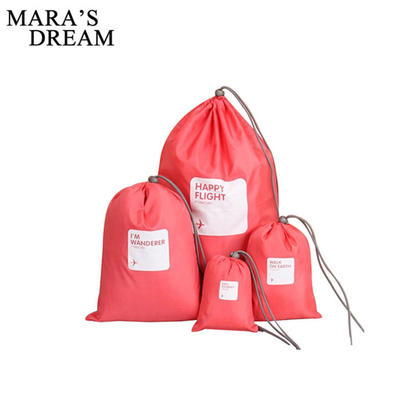 Mara's Dream Waterproof Beam Bag Travel Luggage Clothing Shoes Underwear Tourism Clothing Storage Boxes Travel Bags