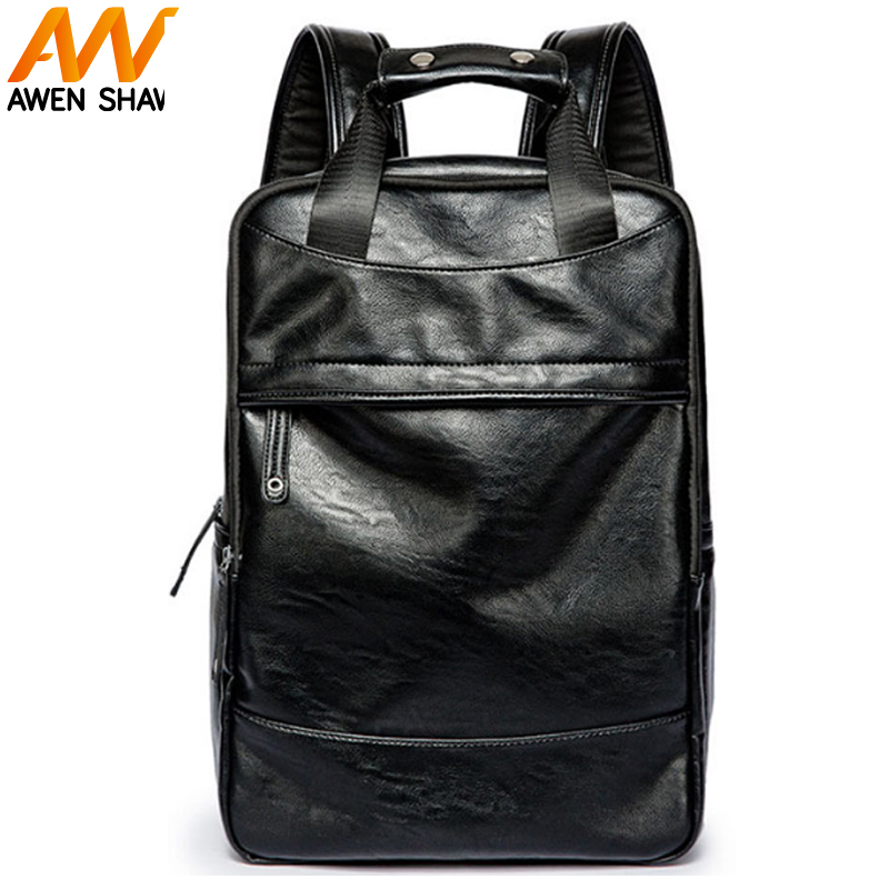 Fashion Teenager PU Leather School Backpack Outdoor Large Capacity Travel Bag Casual Men Backpack Polyester Laptop Shoulder Bags спот точечный светильник lightstar ottico 214429