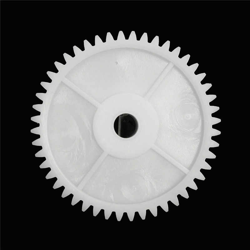 1 ชิ้นพลาสติกสีขาวหลุมเกียร์ 8 มิลลิเมตรสำหรับมอเตอร์ 550 รถเด็กไฟฟ้ารถอุปกรณ์มอเตอร์ Accessorie