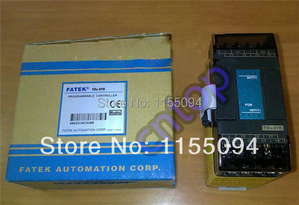 FBs-8YR Fatek PLC 24VDC 8 DO relay Module New in box new and original fbs cb2 fbs cb5 fatek communication board