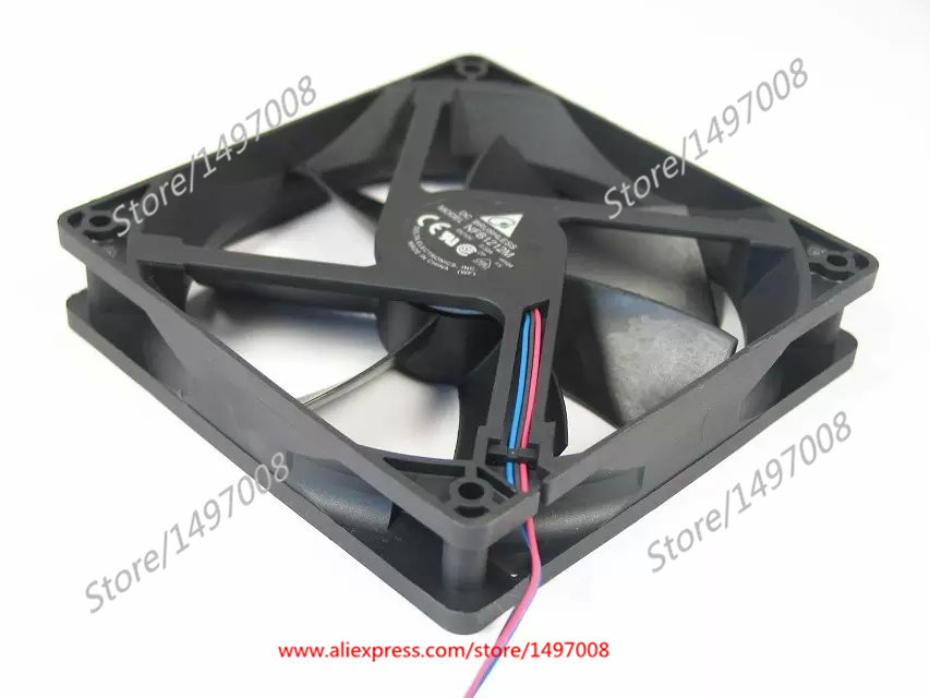 Free Shipping For  DELTA  NFB1212M, -H104 DC 24V 1.20A 3-wire 3-pin connector 110mm 120X120X38mm Server Square Cooling fan free shipping for panaflo fba06t24h dc 24v 0 11a 3 wire 3 pin connector 60mm 60x60x15mm server square cooling fan