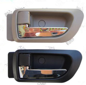 Image 2 - A PAIR BLACK gray Beige INSIDE DOOR HANDLE FOR Great wall haval hover H3 H5 2010 2013 inside Handle car handle door knob
